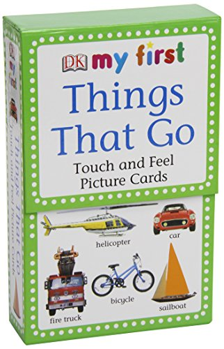 9780756619701: My First Touch & Feel Picture Cards: Things That Go (My First Touch and Feel Picture Cards)