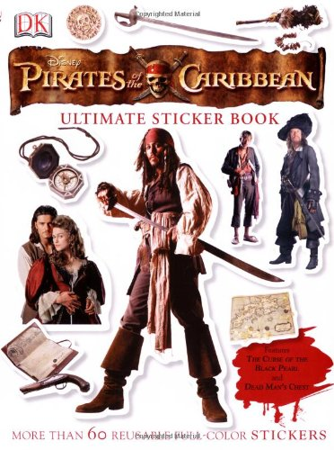 9780756620653: Ultimate Sticker Book: Pirates of the Caribbean (Ultimate Sticker Books)