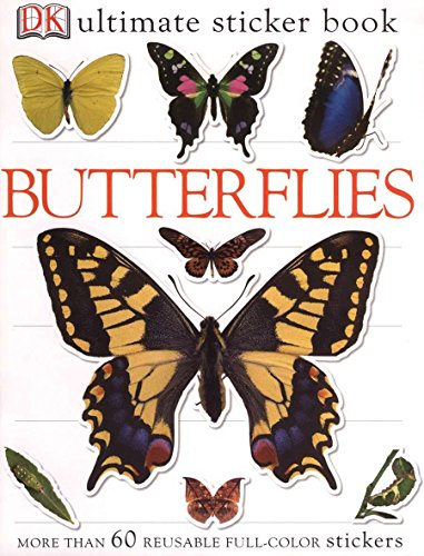 9780756620967: Ultimate Sticker Book: Butterflies (Ultimate Sticker Books)