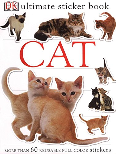9780756620974: Ultimate Sticker Book: Cat (Ultimate Sticker Books)