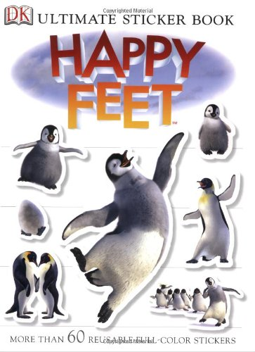 9780756622411: Happy Feet (Ultimate Sticker Book)