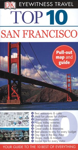 9780756624453: San Francisco (Eyewitness Top 10 Travel Guide)