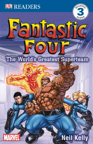 9780756626990: DK Readers L3: Fantastic Four: The World's Greatest Superteam