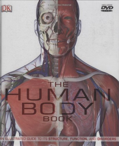 9780756628659: The Human Body Book (Book & DVD)