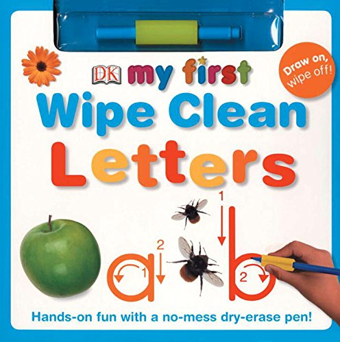 9780756630287: Letters [With Dry-Erase Pen] (Dk My First Books)