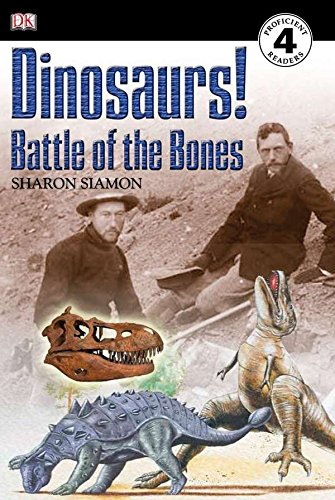 DK Readers L4: Dinosaurs!: Battle of the: Siamon, Sharon