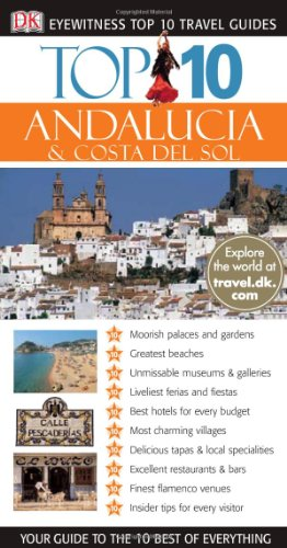 9780756632328: Top 10 Andalusia (Eyewitness Top 10 Travel Guide)