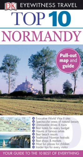 9780756632571: Top 10 Normandy (Eyewitness Top 10 Travel Guides)