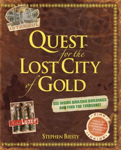 9780756634360: Quest for the Lost City of Gold [With StickersWith Riddle CardWith Poster and Pieces to for Tunnel Viewer]