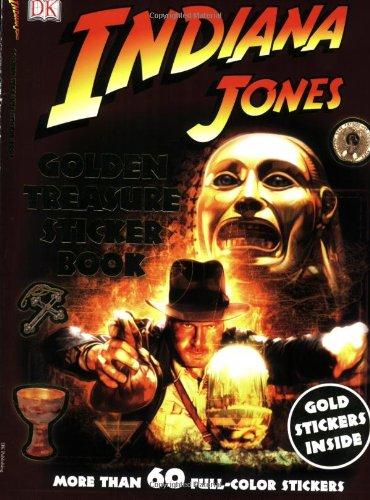 9780756634988: Ultimate Sticker Book: Indiana Jones: Golden Treasure (Ultimate Sticker Books)