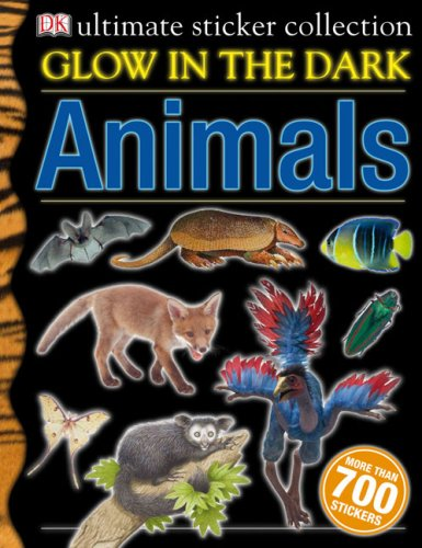 9780756636012: Glow-In-The-Dark Animals Ultimate Sticker Collection (Ultimate Sticker Books)
