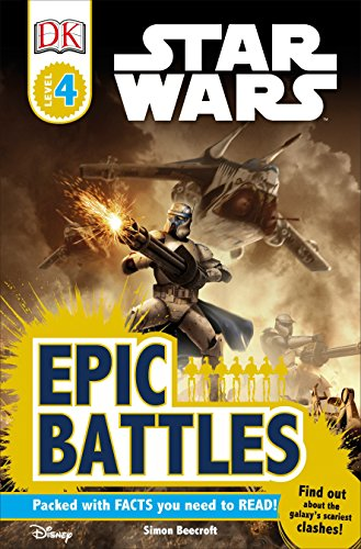 9780756636036: Star Wars Epic Battles (Dk Readers. Level 4)