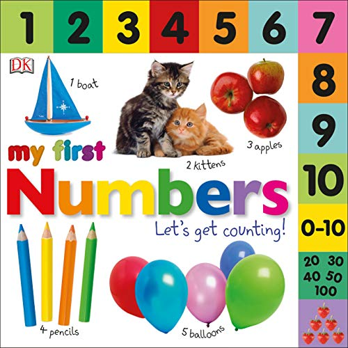 9780756636043: Tabbed Board Books: My First Numbers: Let's Get Counting! (Tab Board Books)