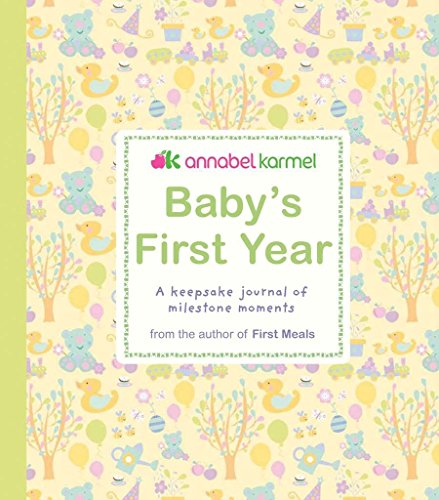 9780756637231: Baby's First Year: A Keepsake Journal of Milestone Moments