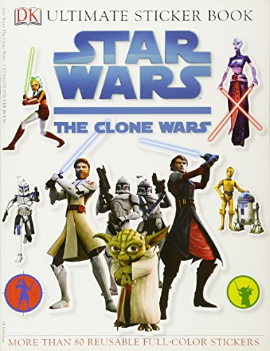 9780756640293: Star Wars: The Clone Wars [With Stickers] (Ultimate Sticker Books)
