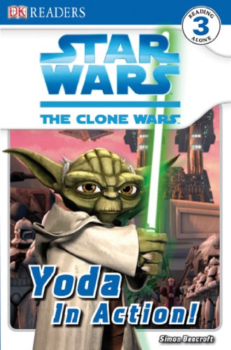 9780756645151: Yoda In Action! (DK Readers Level 3: Star Wars The Clone Wars)