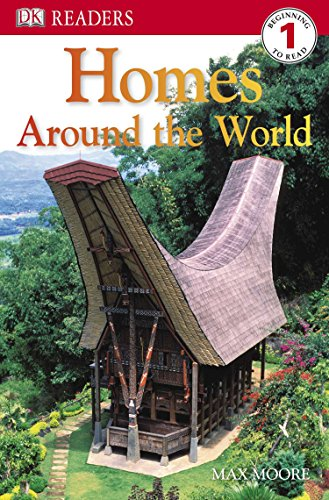 9780756645229: DK Readers L1: Homes Around the World