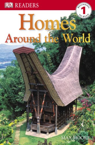 9780756645236: Homes Around the World (Dk Readers. Level 1)