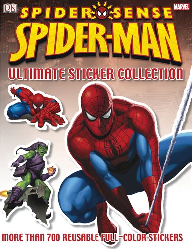 Ultimate Sticker Collection: Spider Sense Spider-Man: DK Publishing