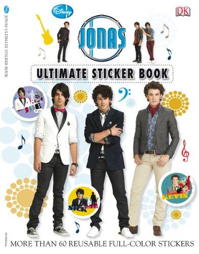 9780756655174: Ultimate Sticker Book: JONAS (Ultimate Sticker Books)