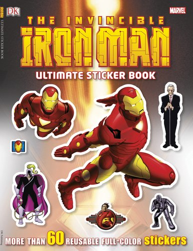 9780756657505: The Invincible Iron Man Ultimate Sticker Book [With Sticker(s)] (Ultimate Sticker Books)