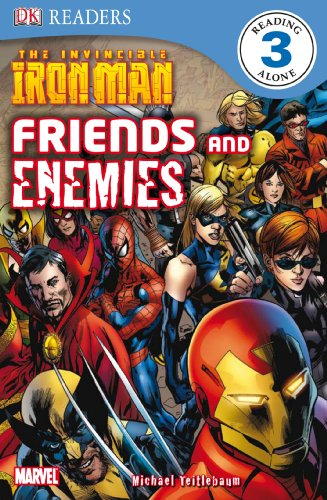 DK Readers L3: The Invincible Iron Man: Friends and Enemies: Michael Teitlebaum