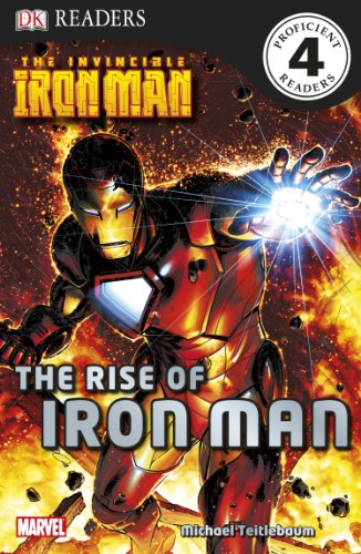 9780756657840: DK Readers L4: The Invincible Iron Man: The Rise of Iron Man