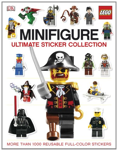 Lego Minifigure: Ultimate Sticker Collection (Paperback): Taylor, Victoria/ Thompson,