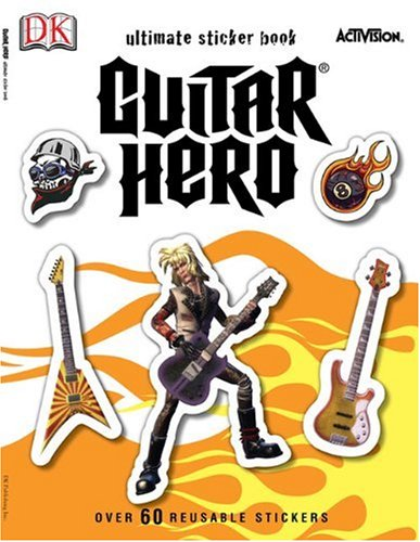 9780756659998: Guitar Hero Ultimate Sticker Book (Ultimate Sticker Books)