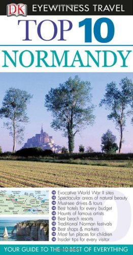 9780756661489: Top 10 Normandy (Eyewitness Top 10 Travel Guides)