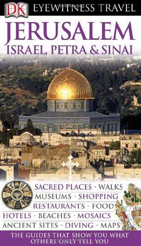 9780756662028: Dk Eyewitness Travel Jerusalem, Israel, Petra & Sinai