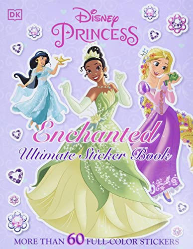 9780756666866: Ultimate Sticker Book: Disney Princess: Enchanted (Ultimate Sticker Books)