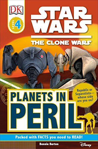9780756666903: Star Wars Clone Wars: Planets in Peril (Dk Readers. Star Wars)