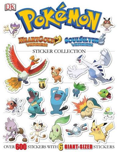 9780756671105: Pokemon HeartGold & SoulSilver Ultimate Sticker Book (Pokémon)