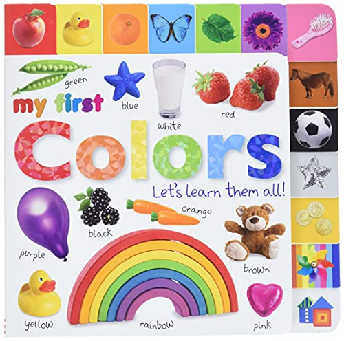 9780756671419: My First Colors: Let's Learn Them All! (Tabbed Board Books)