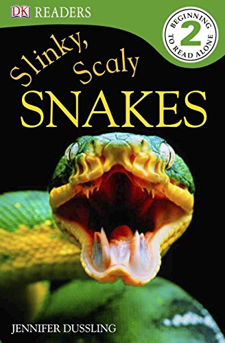 9780756675875: Slinky, Scaly Snakes! (Dk Readers. Level 2)