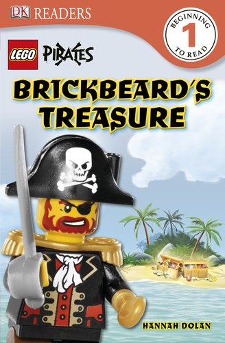 9780756677077: Lego Pirates Brickbeard's Treasure (Dk Readers. Level 1)