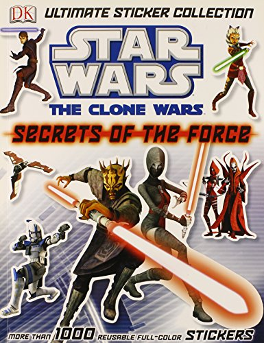 9780756682545: Ultimate Sticker Collection: Star Wars: The Clone Wars: Secrets of the Force
