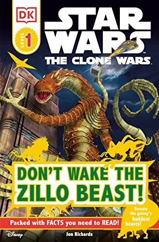 9780756682798: DK Readers L1: Star Wars: The Clone Wars: Don't Wake the Zillo Beast!