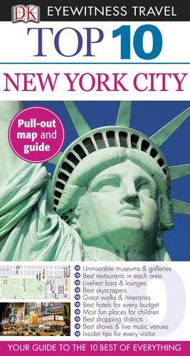 9780756684525: Top 10 New York City (Eyewitness Top 10 Travel Guide)