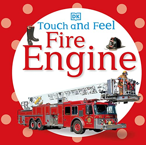 9780756689926: Touch and Feel: Fire Engine (Touch & Feel)