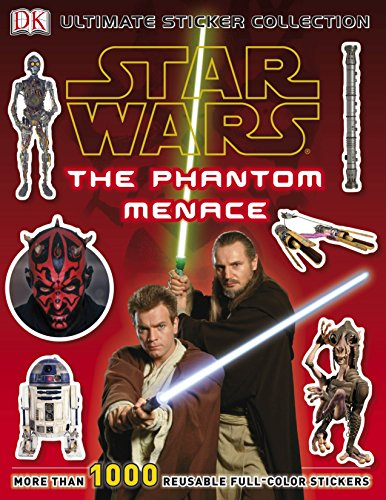 9780756689964: Ultimate Sticker Collection: Star Wars: The Phantom Menace