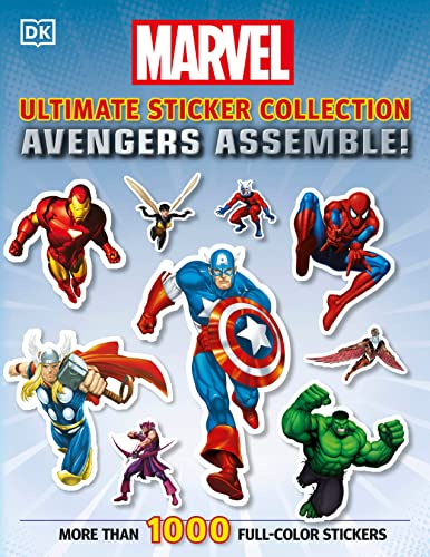 9780756689971: Ultimate Sticker Collection: Marvel Avengers: Avengers Assemble!
