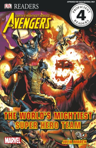 9780756690274: DK Readers L4: The Avengers: The World's Mightiest Super Hero Team