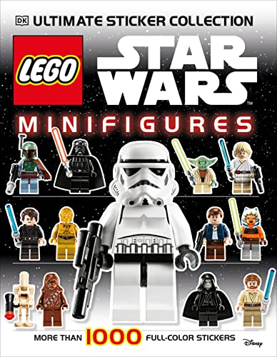 9780756690496: Ultimate Sticker Collection: LEGO Star Wars: Minifigures (Ultimate Sticker Collections)