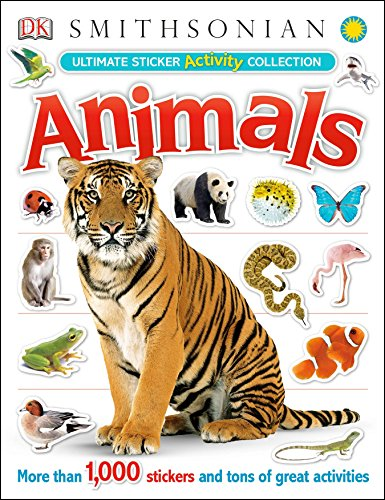 9780756692872: Ultimate Sticker Activity Collection: Animals (Ultimate Sticker Collections)