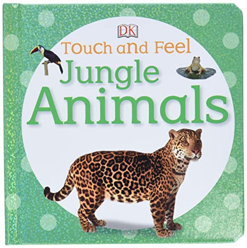 9780756692896: Touch and Feel: Jungle Animals (Touch & Feel)