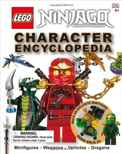 9780756698126: Lego Ninjago: Character Encyclopedia [With Minifigure]