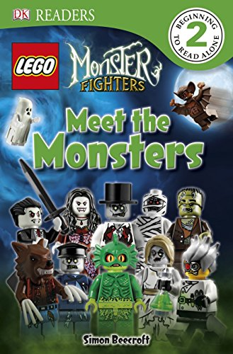 9780756698478: DK Readers L2: LEGO Monster Fighters: Meet the Monsters