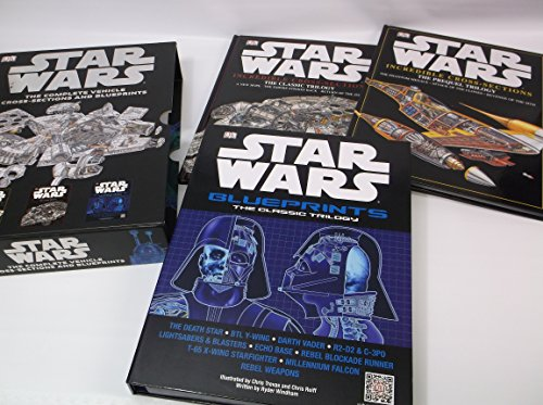 9780756699895: STAR WARS: The Complete Vehicle Cross-Sections and Blueprints (2 Books + posters)